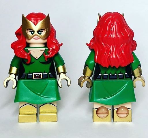 Genetic Girl DCB x agoodfella Custom Minifigure