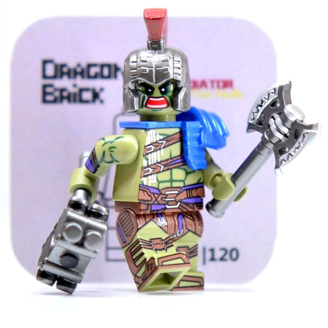 Gladiator Hulk DB Custom Minifigure