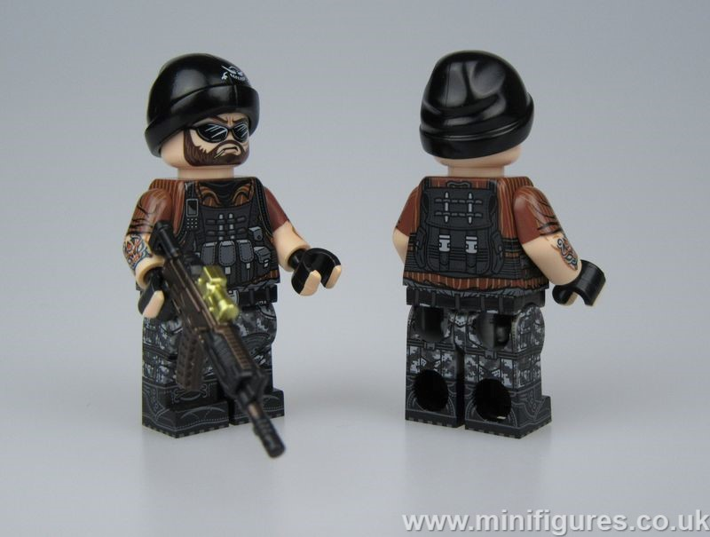 Mercenary LeYiLeBrick Custom Minifigure