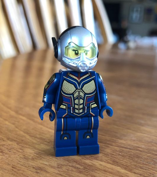 Quantum Girl PC Custom Minifigure
