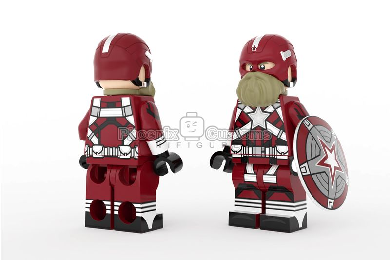 Russian Super Soldier PC Custom Minifigure