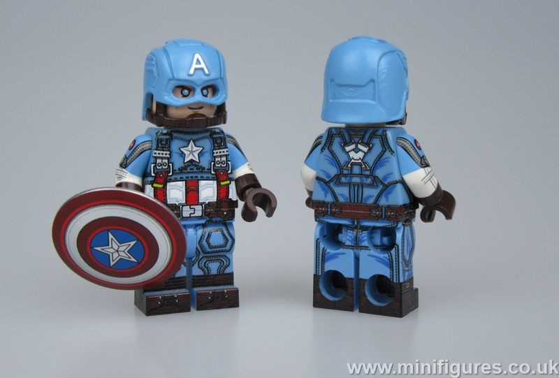 Cap Light Blue LeYiLeBrick Custom Minifigure