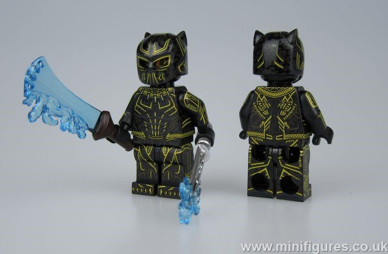 Erik Killmonger CM v MF Custom Minifigure