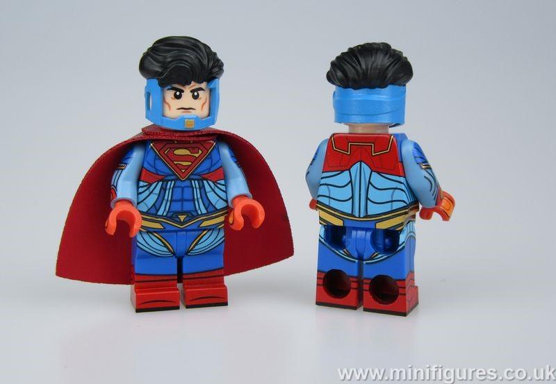 Injustice Superman ABB Custom Minifigure