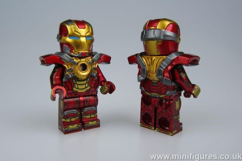 MKXVII CM v MF Custom Minifigure