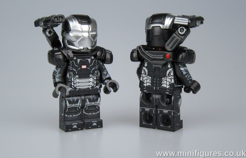 War Machine LeYiLeBrick Custom Minifigure