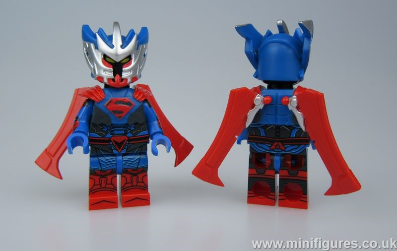 Armored God GB Custom Minifigure