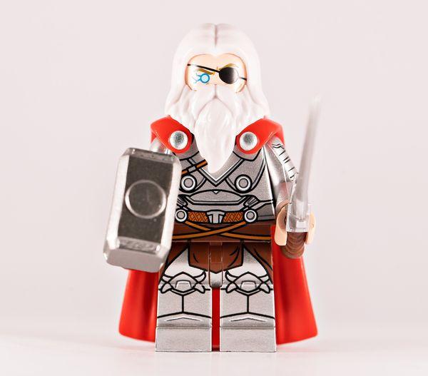 Emperor Thunder BF Custom Minifigure
