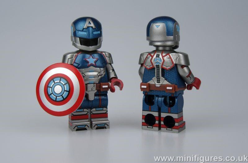 Patriot Armor BF Custom Minifigure