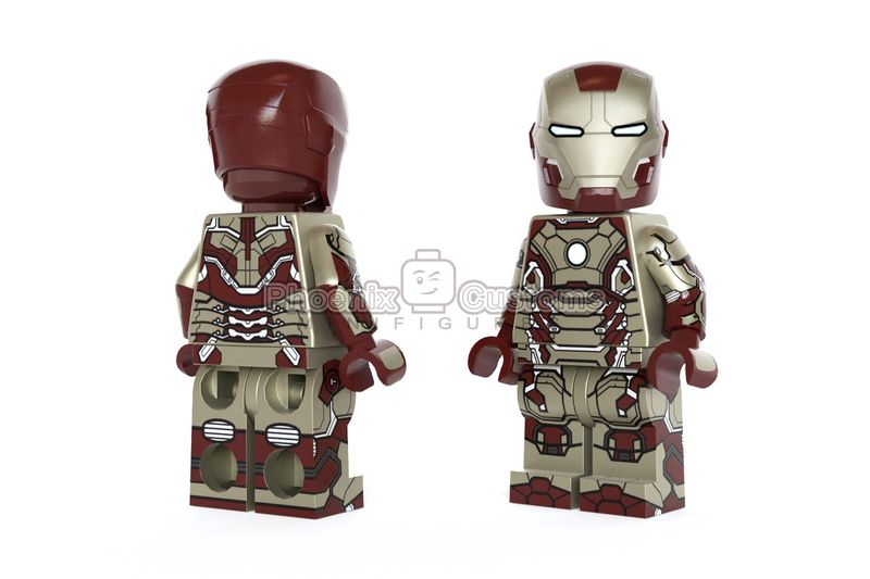 Prodigal Armor PC Custom Minifigure