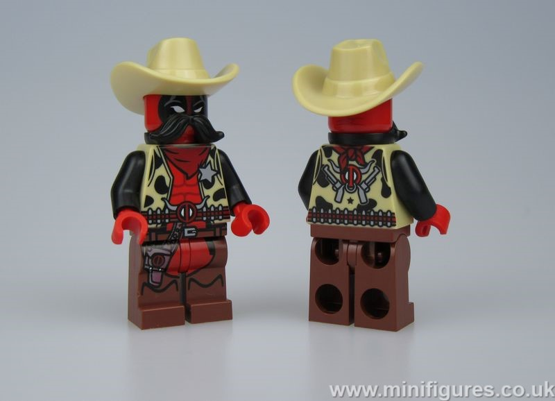 Sheriff Deadpool LeYiLeBrick Custom Minifigure