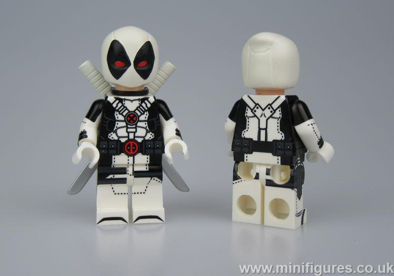 White Deadpool UG Custom Minifigure
