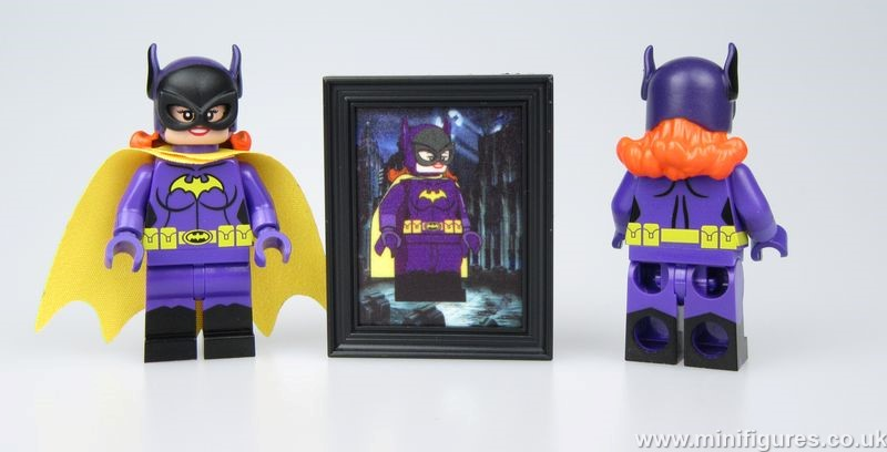Bat Lady DCB Custom Minifigure