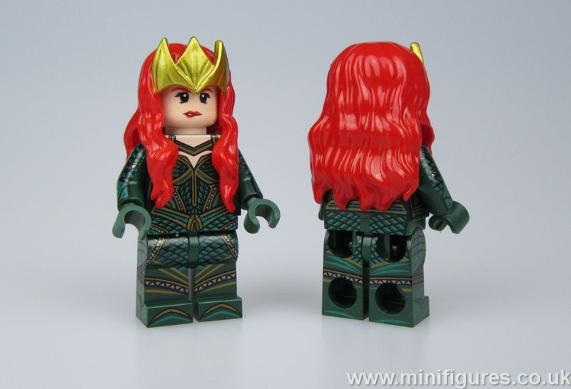 Mera Heroines OB Custom Minifigure