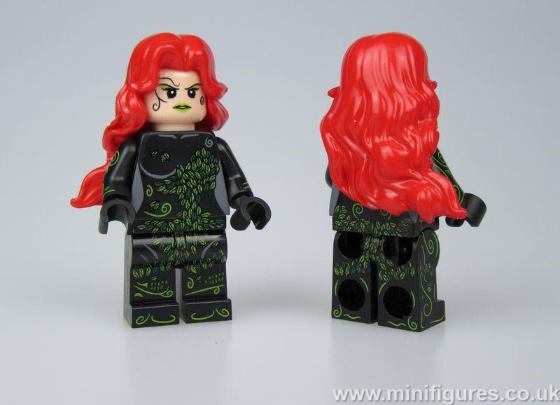 Poison Ivy Heroines OB Custom Minifigure