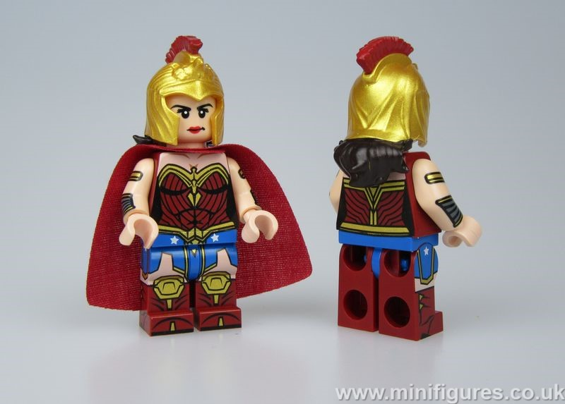 Wonder Woman Heroines OB Custom Minifigure