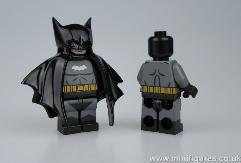 Batman Black UG v CM Custom Minifigure