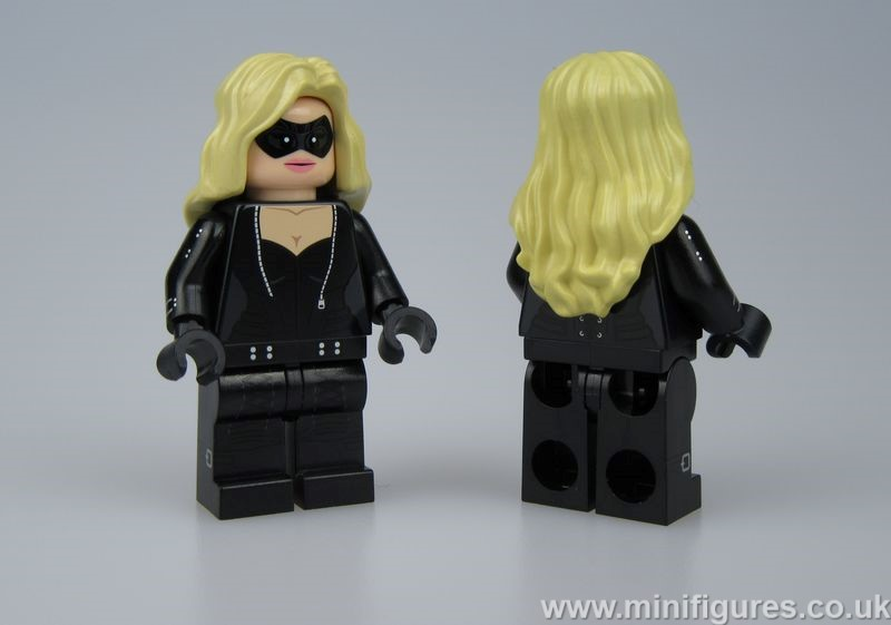 Black Canary Christo Custom Minifigure