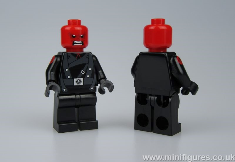 Red Skull Christo Custom Minifigure