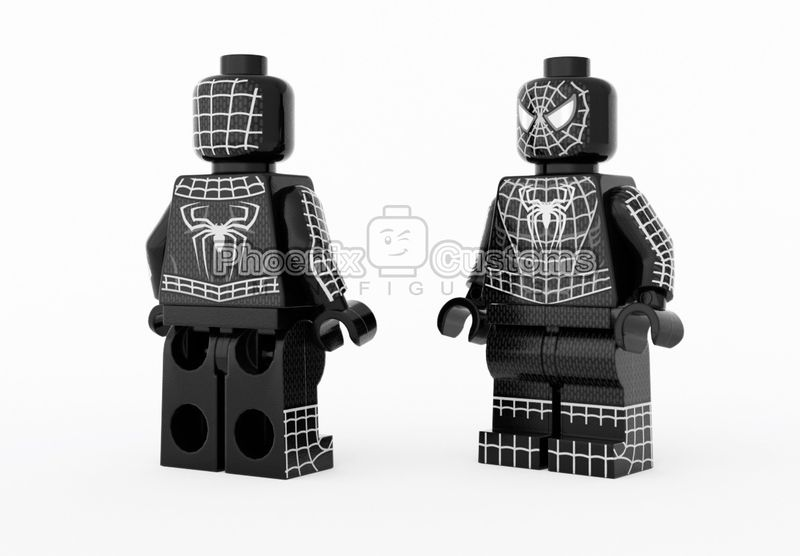 Symbiote Arachnid PC Custom Minifigure