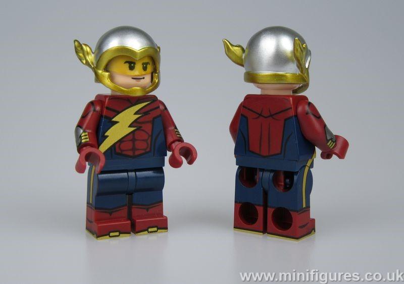 Flash Earth 2 CM Custom Minifigure