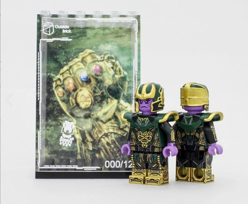 Hydra Thanos OB Custom Minifigure