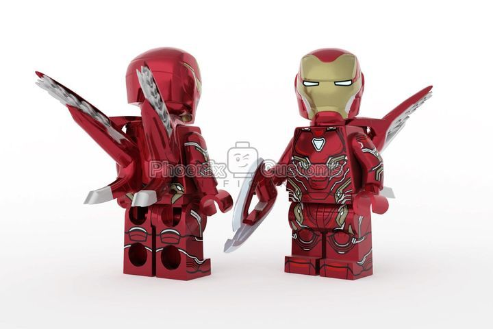 Infinite Armor PC x Rex Custom Minifigure