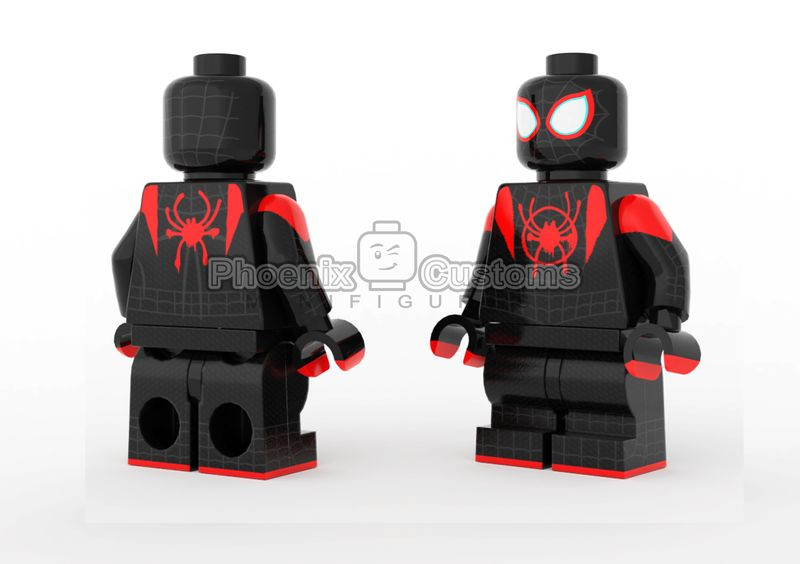 Arach-Kid Phoenix Custom Minifigure