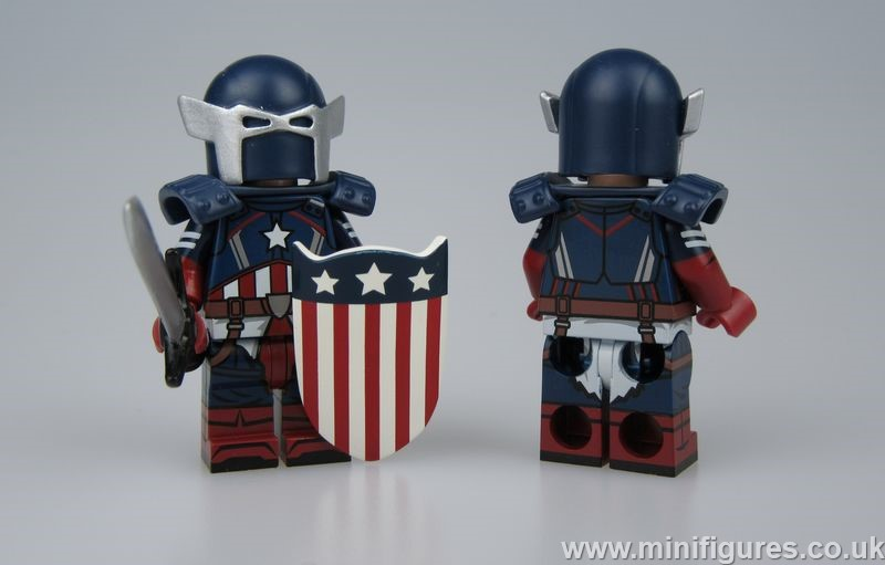 Captain America DB x OB Custom Minifigure