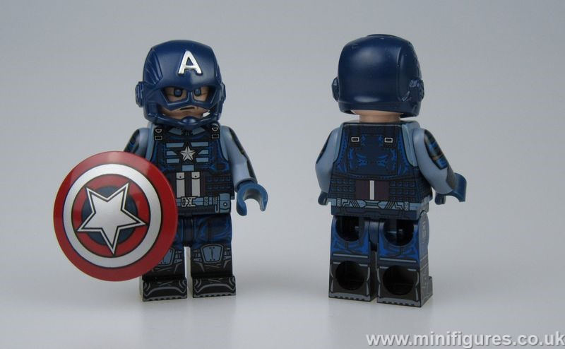 Captain Rogers DB x OB Custom Minifigure
