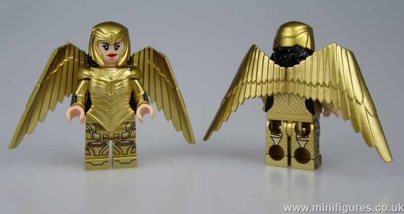 Golden Goddess BF Custom Minifigure