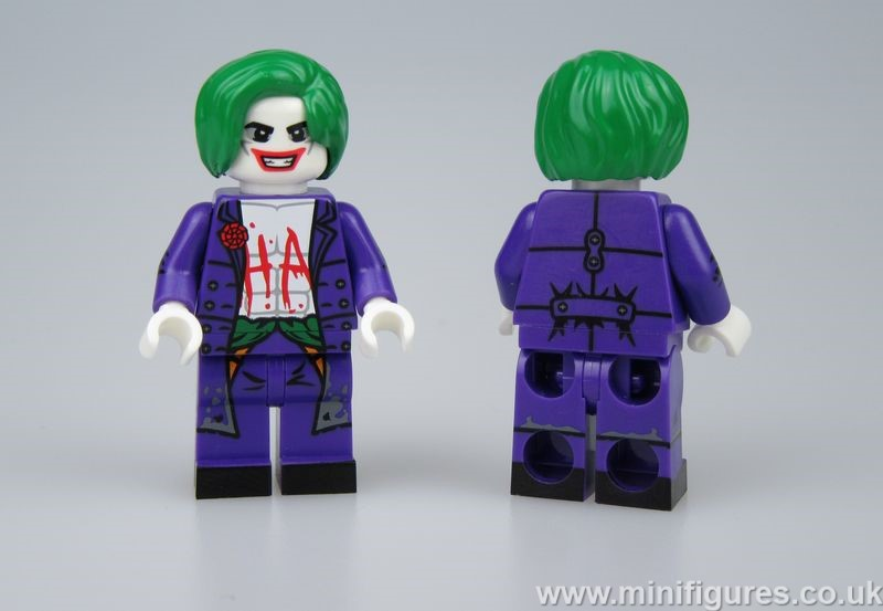 Injustice Joker Dragon Brick Custom Minifigure