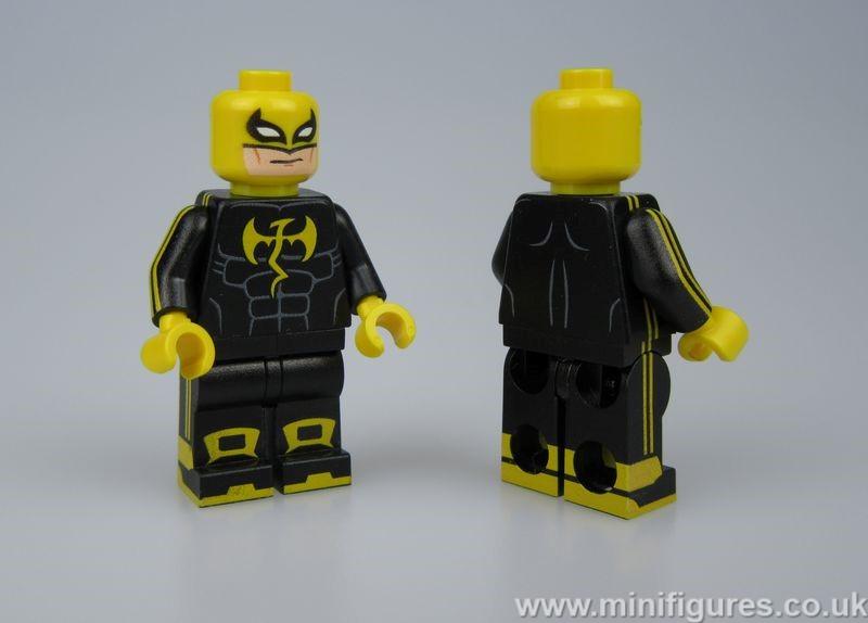 Iron Fist Black Suit LeYiLeBrick Custom Minifigure