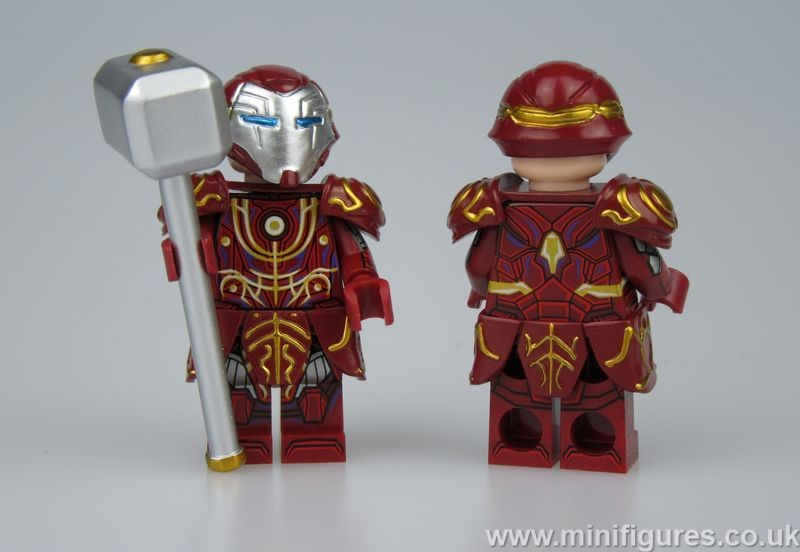 Iron Hammer Dragon Brick Custom Minifigure