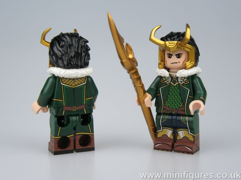 Loki Comic DB x OB Custom Minifigure