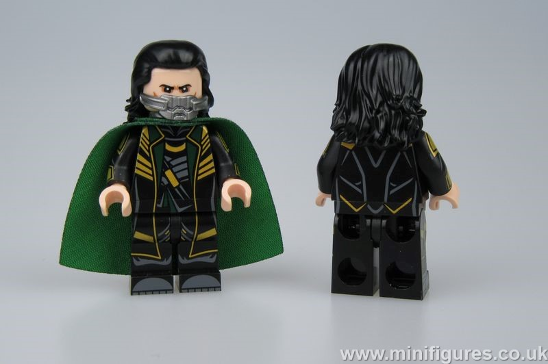 Loki Dragon Brick Custom Minifigure