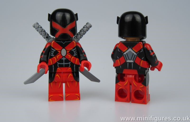 Major Dragon Brick Custom Minifigure