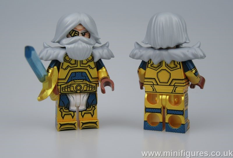 Odin Dragon Brick Custom Minifigure