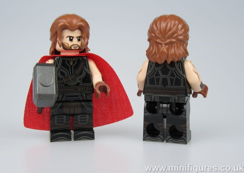Thor Ragnarok Dragon Brick Custom Minifigure