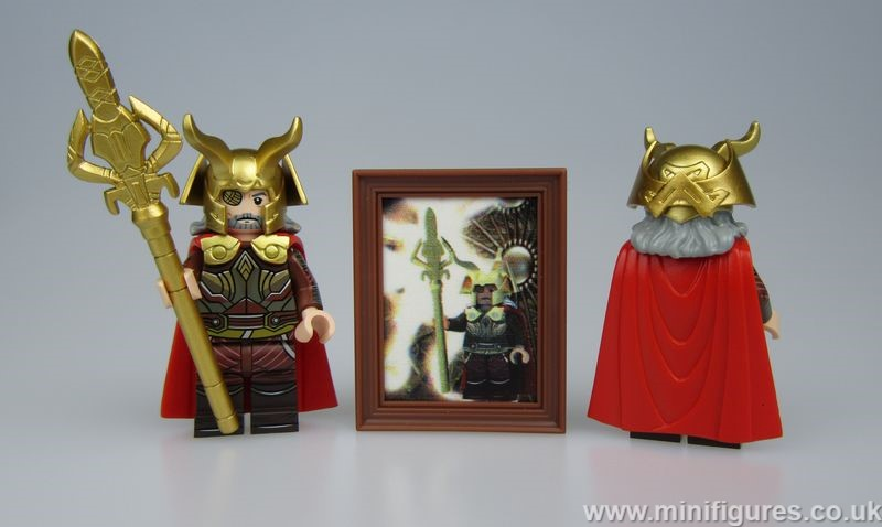 Viking Emperor DCB v GB Custom Minifigure
