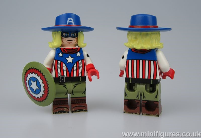 Wild West Cap DB x OB Custom Minifigure
