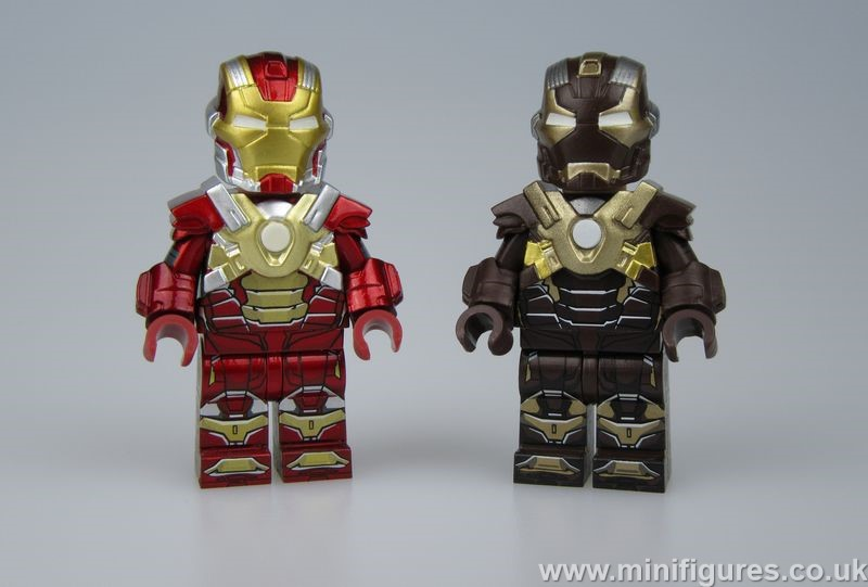 HeartBreaker & Tank DCB x Rex Custom Minifigures
