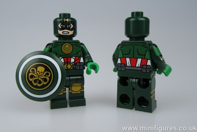 Hydra Cap Dragon Brick Custom Minifigure