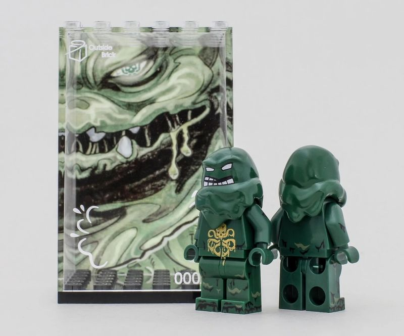 Hydra Clay Face OB Custom Minifigure