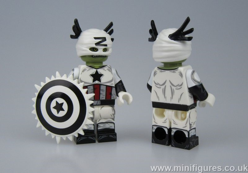 Captain Zola DB x OB Custom Minifigure