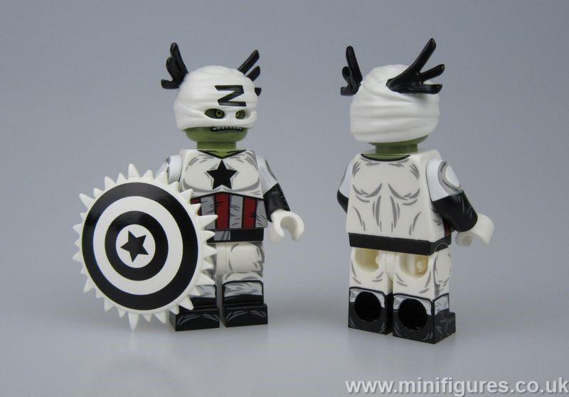 Captain Zola DB x OB Custom Minifigure