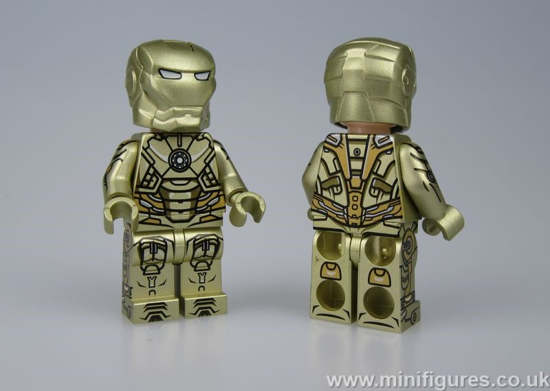 MK21 V2 Dragon Brick Custom Minifigure