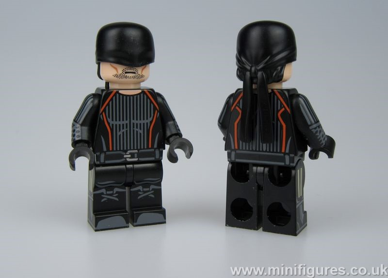 The Dark Warrior Dragon Brick Custom Minifigure