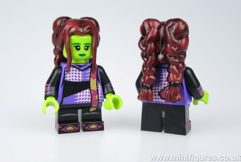 Young Gamora Dragon Brick Custom Minifigure