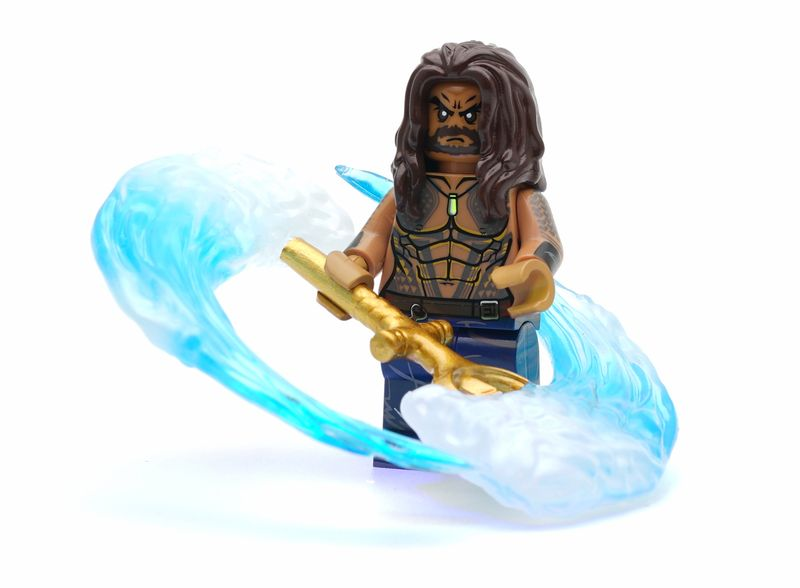 Aquaman Lab9 Custom Minifigure